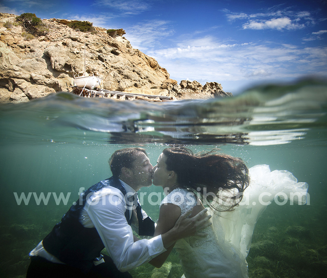 Ibiza wedding by the sea