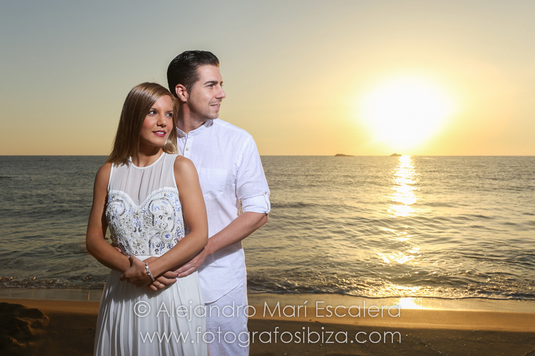 shooting wedding sunset ibiza