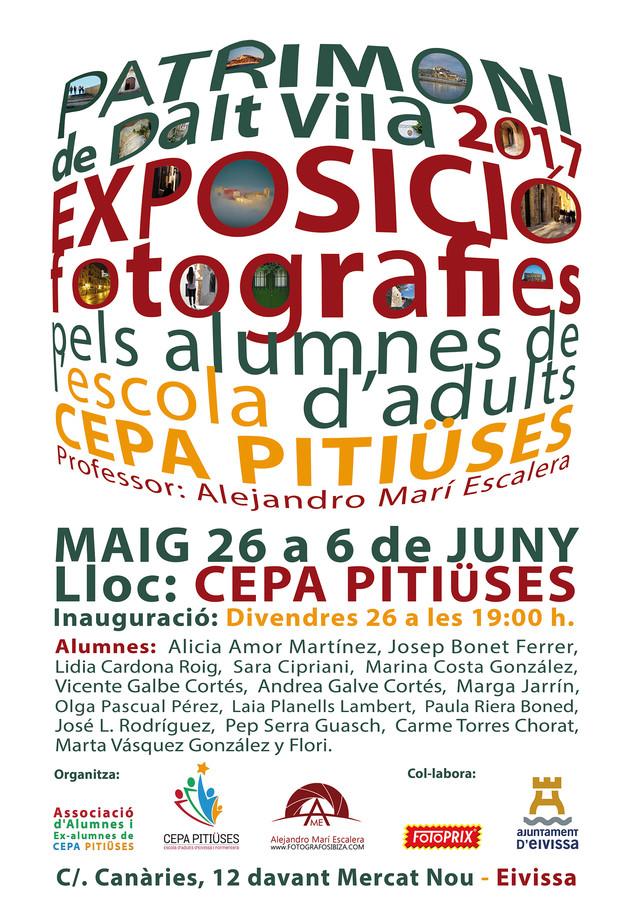 Expo PATRIMONI 2017 de Fotografía