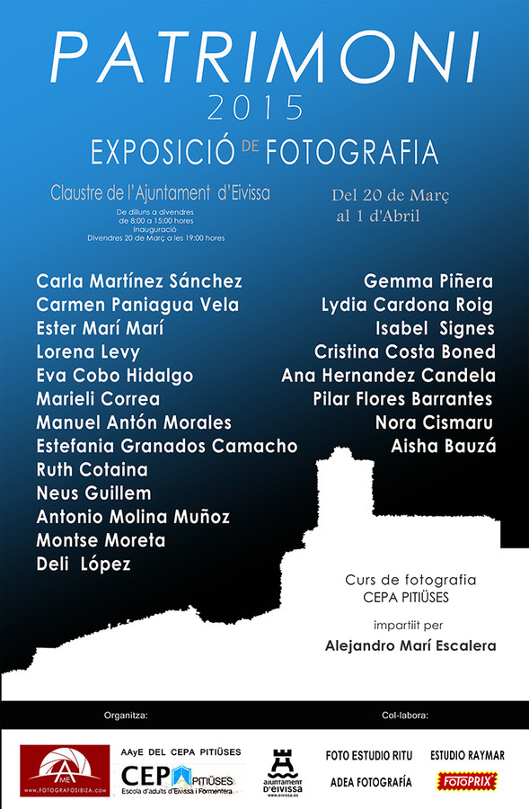 Photo exhibition in Ibiza