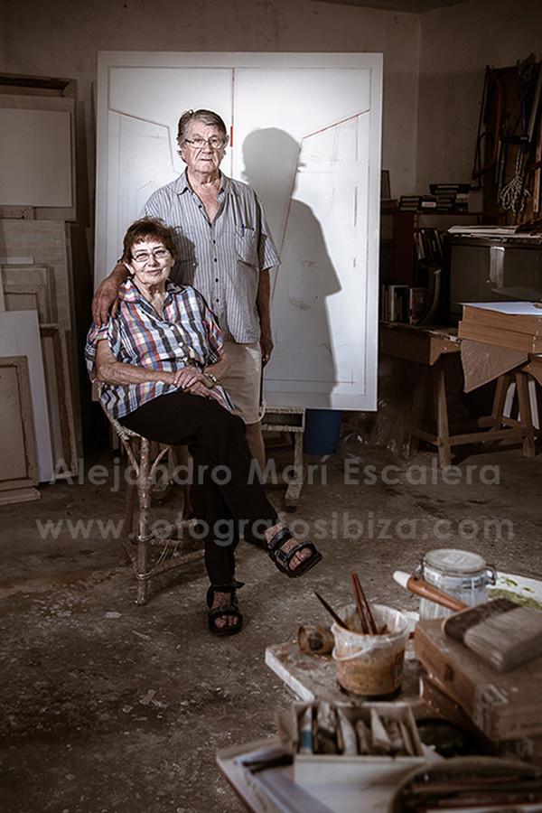 TUR COSTA y ANNELIESE WITT por Alejandro Marí Escalera