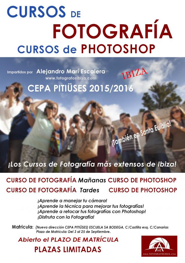 Información Cursos de Fotografía en ibiza