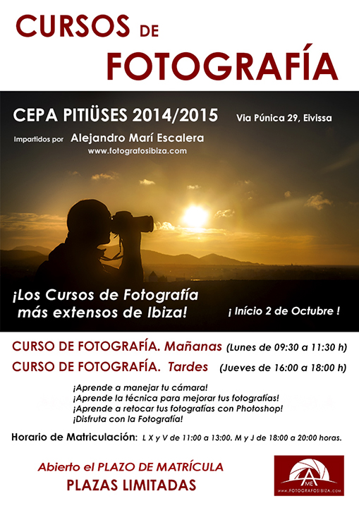 Workshop and photography courses in ibiza and santa eulalia del rio