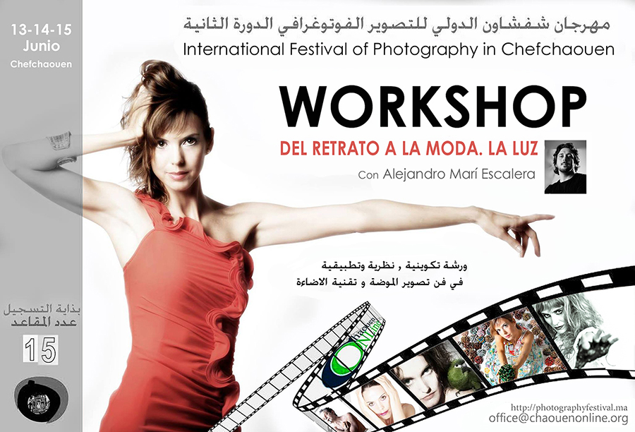 Workshop photography portrait and fashion by alejandro mari escalera photographer ibiza